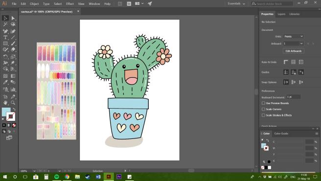 First cactus made!