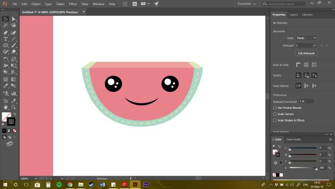 First Watermelon made!!