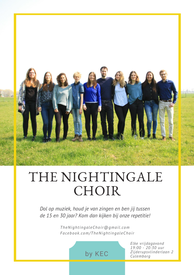 The Nightingale Choir Poster